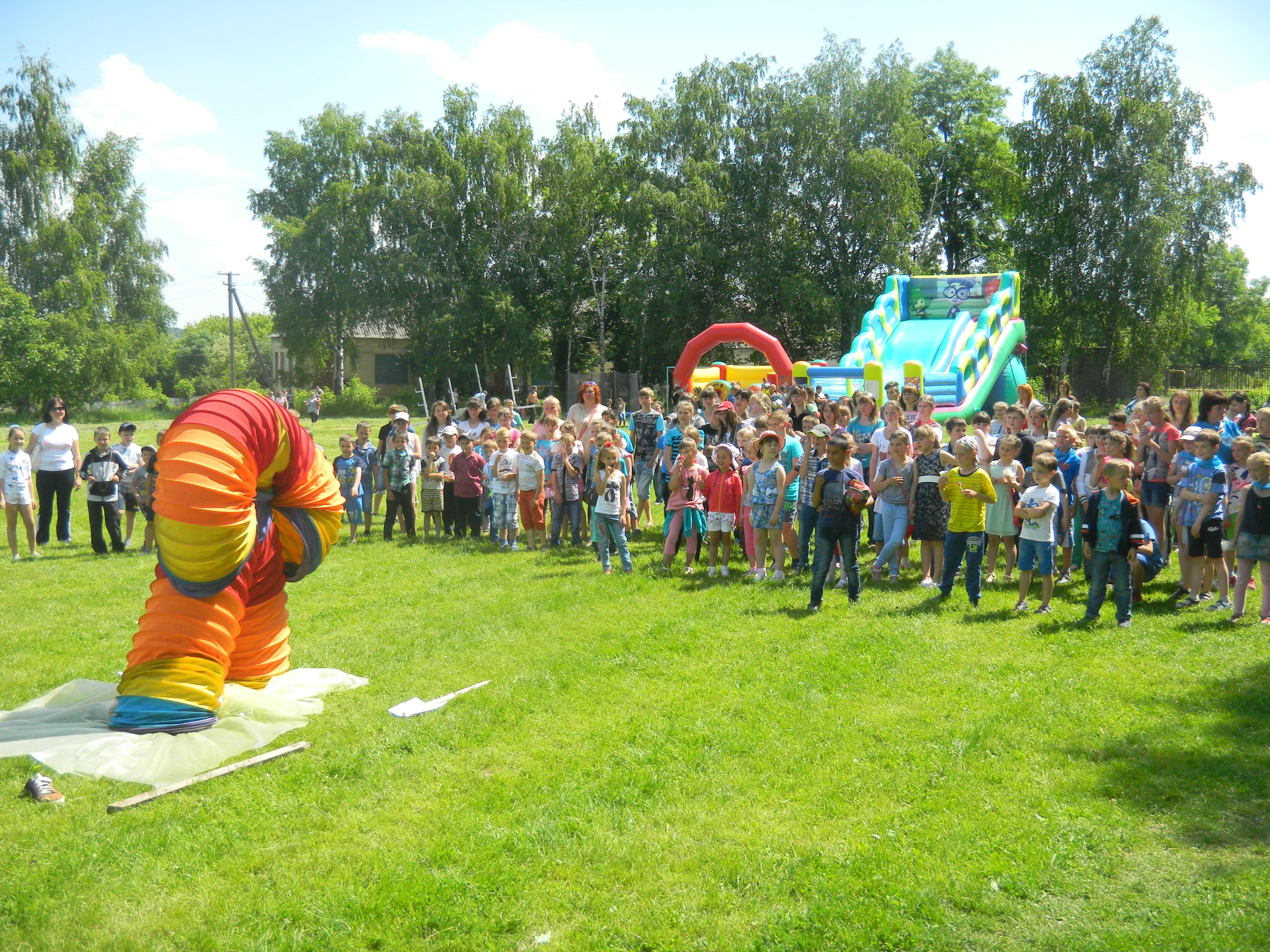 Свято для дітей Кунківської об'єднаної територіальної громади